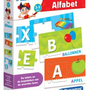 Clementoni leerspel het alfabet junior 53-delig