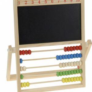 Free and Easy houten telraam met schoolbord 30 cm