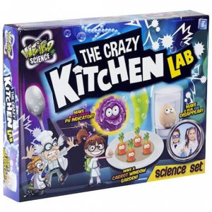 Grafix The Crazy Kitchen Lab experimenteerset 12-delig
