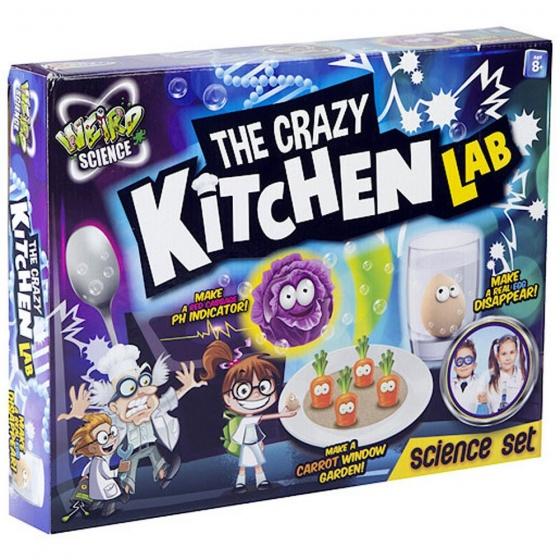 Grafix The Crazy Kitchen Lab experimenteerset 12-delig