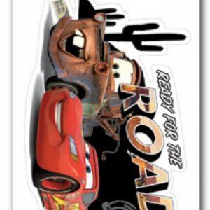 Disney decoratiesticker Cars 48 x 29 cm