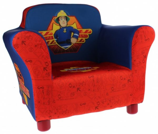 Delta Kids Brandweerman Sam stoel rood/blauw