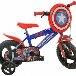 Dino 412UL-CA Captain America 12 Inch 21 cm Jongens Knijprem Blauw