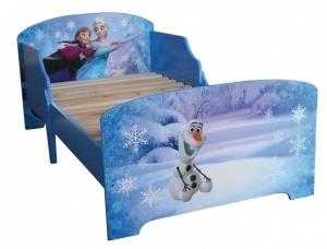 Disney Frozen Bed meisjes blauw 140 x 70 cm