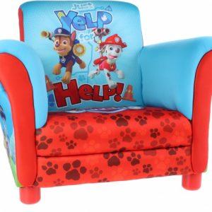 Nickelodeon Paw Patrol Gestoffeerde Stoel rood/blauw
