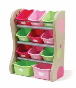 Step 2 opbergkast fun time Nooit meer rondslingerend speelgoed in de kamer met deze organizer. Met bakken in verschillende maten zodat ze grote én kleine spulletjes kwijt kunnen en helemaal zelf kan bepalen wat ze waar in opbergen. Eenvoudig te bevestigen aan de muur. Echt een aanwinst voor iedere kinderkamer! Specificaties: Kleur: beige Geslacht: meisjes Materiaal: kunststof Afmeting: 36 x 67 x 90 cm (L x B x D)